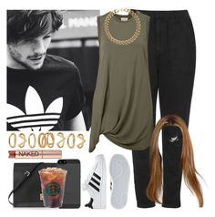 """""""Day with Louis. -----> *Cynthia."""" by imaginegirlsdsos ❤ liked on Polyvore featuring Topshop, Witchery, Valentino, Urban Decay, Forever 21 and adidas"""