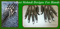 Best Mehndi Designs For Hands 2016 Step By Step