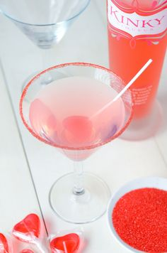 Kinky Blow Pop Martini recipe via www.thenovicechefblog.com