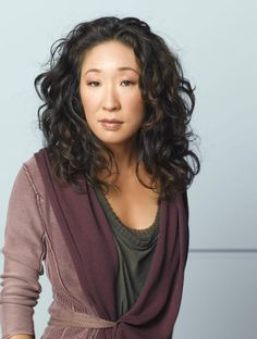 sandra oh. In my opinion - wearing the wrong shades of muted muddy plums, when she beams in pure and cool colours.