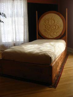 Sunflower Child's Bed