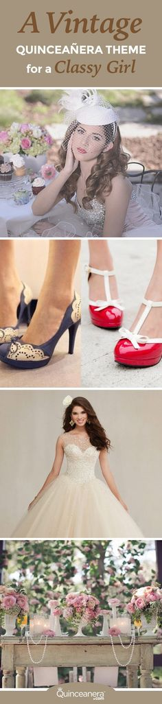 Keep these quince tips handy when trying to have a  vintage Quinceanera theme. - See more at: http://www.quinceanera.com/decorations-themes/vintage-quinceanera-theme/#sthash.CvMuCoCc.dpuf