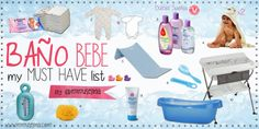 mimuselina: 6. Baño bebe Must Have List by @Mimuselina
