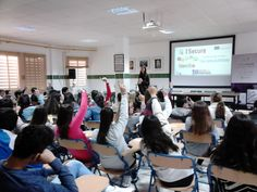 "On 7th April  , it was held the conference ""Internet and Social Networks for Employability"" at Secondary School Juan Ramón Jiménez in Moguer (Huelva)."