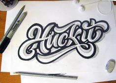 lettering sketches on Typography Served Handwritten Typography, Tattoo Lettering Fonts, Calligraphy Words, Doodle Lettering, Hand Drawn Lettering, Creative Typography, Graffiti Lettering, Typography Logo, Lettering Design