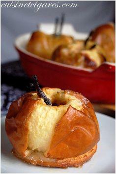 Pommes vanille au four d'antan