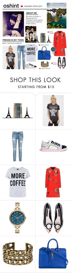 """Member Spotlight: Oshint"" by polyvore ❤ liked on Polyvore featuring Dot & Bo, Forever 21, Current/Elliott, Sophia Webster, Topshop, Marc Jacobs, Marc by Marc Jacobs, Alice + Olivia, Isabel Marant and Yves Saint Laurent"