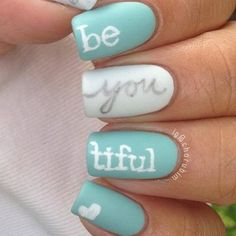 nails - trendy nail Art ideas for summer 2015