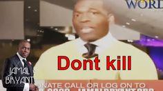 Pastor Jamal Bryant Minitries Sermons 2016 - Dont Kill Me Over That Jamal H Bryant