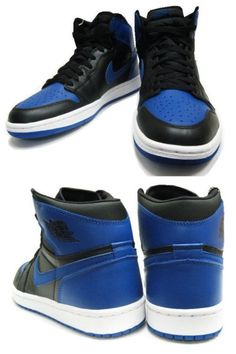 separation shoes 0459f 0d9f4 AIR JORDAN 1 HIGH – BLACK – ROYAL BLUE – FEBRUARY 2013