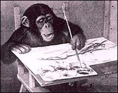 Crazy Monkey Art | Chimpanzees as Artists