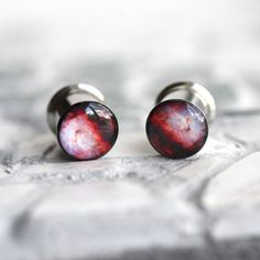Designer Clothes, Shoes & Bags for Women Plugs Earrings, Gauges Plugs, Nasa, Tapers And Plugs, Cute Piercings, Tunnels And Plugs, Stretched Ears, Peircings, Body Jewelry