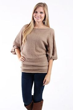 The Chelsea Sweater, Beige