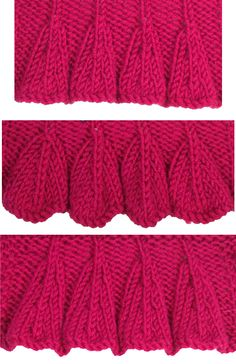 ÆBottom UP Ruffles is found in the Edging Stitches category.