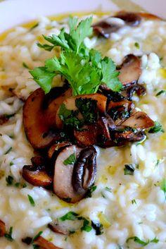 risoto salsão com funghi