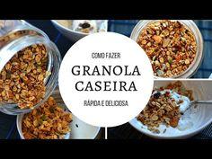 Petiscana: Granola caseira [Receita em vídeo]