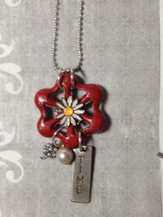 Unique Chic Water Valve Necklace,  Vintage Jewelry, Upcycled Recycled Repurposed on Etsy, $15.00