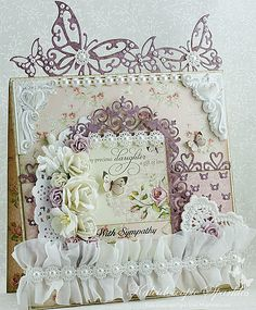 Live & Love Crafts' Inspiration and Challenge Blog: With Sympathy