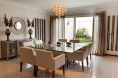 Trendy home furniture design dining tables ideas Dining Room Table Chairs, Modern Dining Room Tables, Accent Chairs For Living Room, Dining Room Design, Interior Design Living Room, Dining Area, Room Chairs, Salons Cosy, Dinner Room
