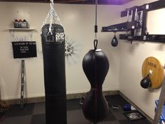 Converted 1/2 of my garage into a boxing gym.