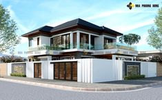 2 storey house design Luxuriousntwo-storey modern villa - Pinoy House Plans How An Ultrasonic Humidi Online Architecture, Architecture Magazines, Amazing Architecture, 2 Storey House Design, Two Storey House, Double Storey House Plans, Small Villa, Contemporary House Plans, Modern Contemporary