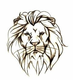 I love the simplicity. Ive been wanting a lion tattoo.
