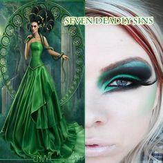 Seven deadly sins - Envy http://www.makeupbee.com/look_Seven-deadly-sins---Envy_9584