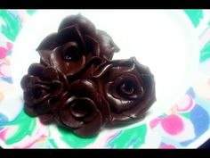 Rosas modeladas em chocolate - Como Fazer Fácil - YouTube