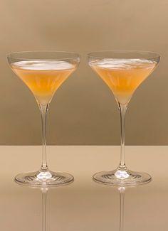 Mary Pickford Cocktail: 1940s Recipes + Menus : gourmet.com