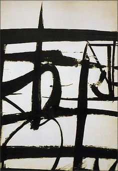 Franz Kline - Abstract Expresssionist