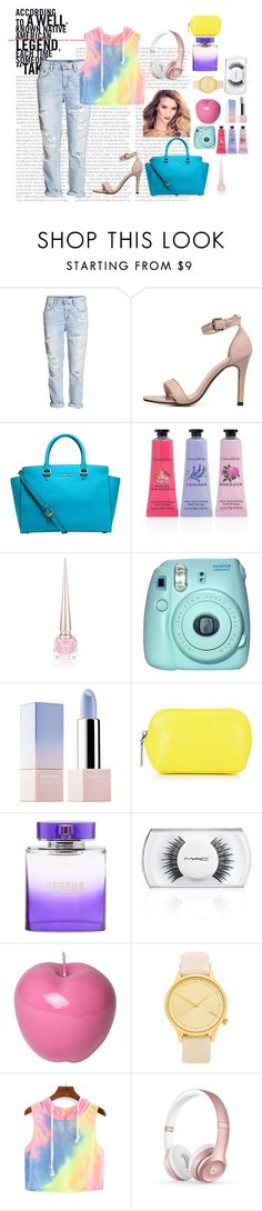 """"""""""" by tomboyllama995 on Polyvore featuring Michael Kors, Crabtree & Evelyn, Christian Louboutin, Fuji, Sephora Collection, Kenzo, MAC Cosmetics, Bitossi, Komono and Beats by Dr. Dre"""