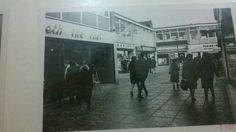 The old arcade had an Our Price and Elizabeth the Chef. Now Peacock Place shopping centre.