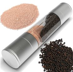 KITCHEN ACCESSORIES: Stainless Steel Manual Pepper Salt Mill Grinder Sp...
