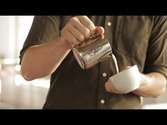 Wonderful guide on latte art, especially breaking down pouring speed, height, and position.