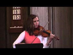 Laura Hightower at the violin 6 28 2015