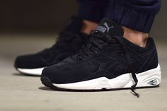 PUMA TRINOMIC R698 – ALLOVER SUEDE BLACK