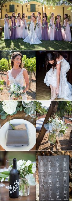 Featured Photographer: Elle Jae Photo; rustic wedding reception