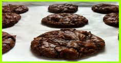 weight watchers best recipes | Chocolate Brownie Cookies – 2 Point+ - weight watchers recipes