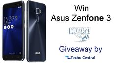 Here we are again with another giveaway for our users. This time we have Asus Zenfone 3. Register Yourself and Win.. Hurry Up !!
