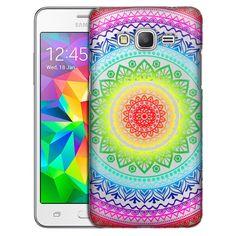 Samsung Grand Prime Rainbow Circle Mandala Case