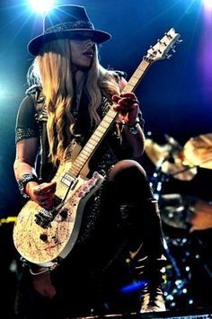 Orianthi ~ World Class Guitarist. She is F -ing Amazing