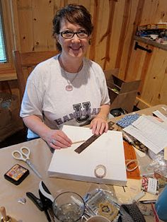 """Rach-ology: Handmade U - Prior Semesters, Our First Official Instructor - Hold Dear's Michelle Geller, now Handmade U """"Right Hand Lady"""""""