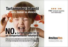 #mitosttm ¿Tartamudea para llamar la atención? No. La tartamudez no es un comportamiento voluntario #yotartamudeoyqué #ttminfantil