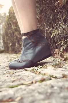 JORA - FREE SHIPPING Handmade Leather Shoes %25 Winter Sale