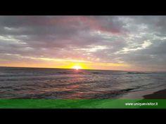 Alba sul mare - Sunrise on the Beach - Pineto - Abruzzo http://www.uniquevisitor.it/abruzzo/mare/pineto/pineto.php