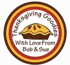 Personalized Thanksgiving Stickers Placecard by MoonLitPrintables