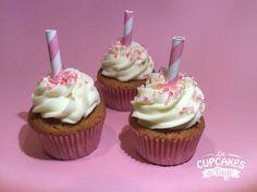Pinky Cupcakes au chocolat blanc