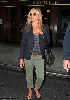 Jennifer Aniston in NYC May 9, 2013