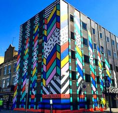 Camille Walala - Building for Splice