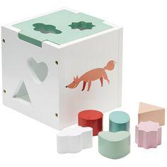 Blokkendoos Woodland #pastel - Kid's Concept #kids #toys #littlethingz2
